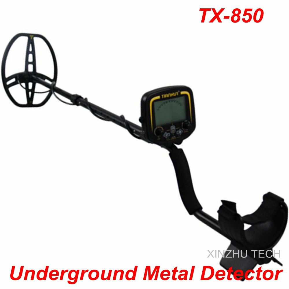 New Arrival TX-850 Metal Detector Professional Underground Gold Detector TX-850 Treasure Hunter TX-850 Updated Version professional tx 850 deep penetrating gold nugget hunter pinpointing metal detector 19 khz frequency adjustable position armrest
