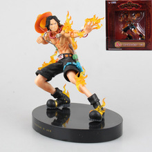 Anime One Piece Portgas D Ace The New World PVC Action Figure Collectible Model Toy 18cm Retail Box WU132
