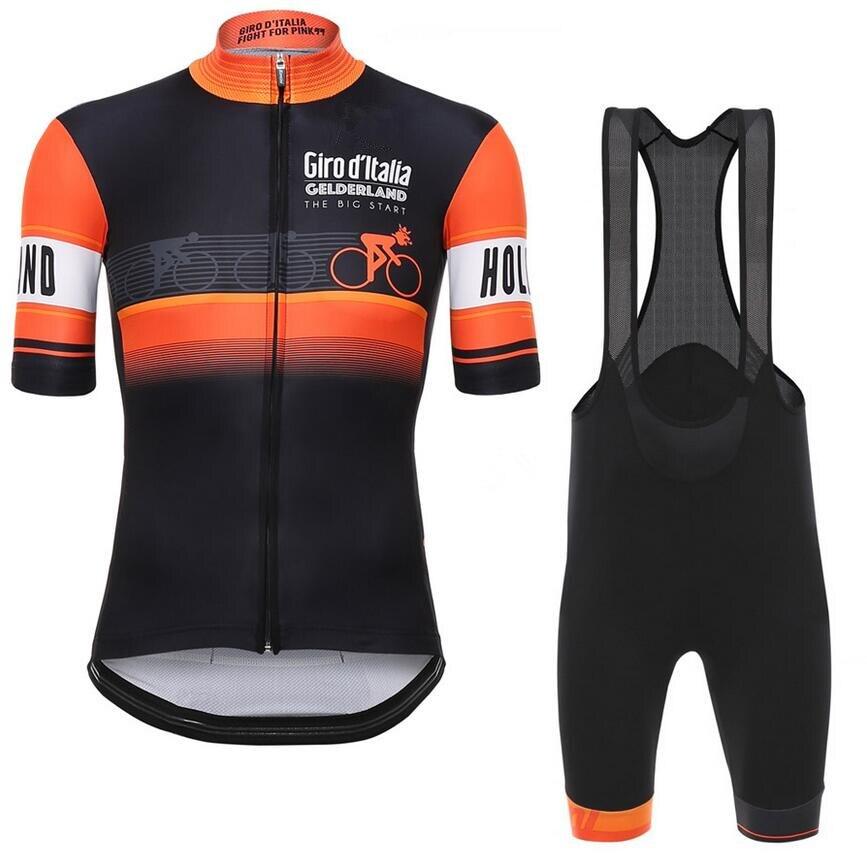 Цена за Tour De Италия Д 'ИТАЛИЯ 2016 Велоспорт Джерси с коротким рукавом велоспорт рубашка велосипед одежда Ropa Ciclismo