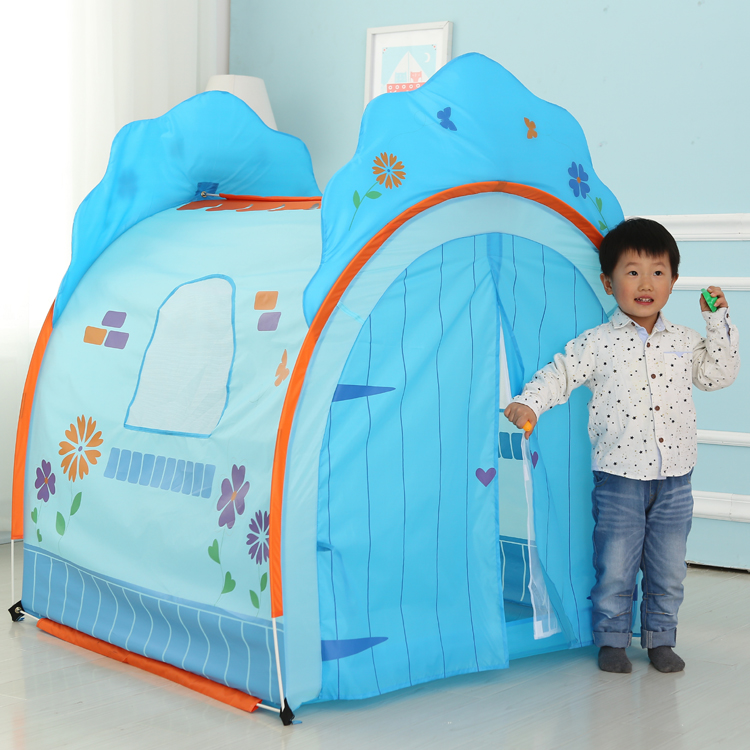 New arrival Children s Big pink blue Tent Game House without Ocean Ball Pool Indoor Outdoor