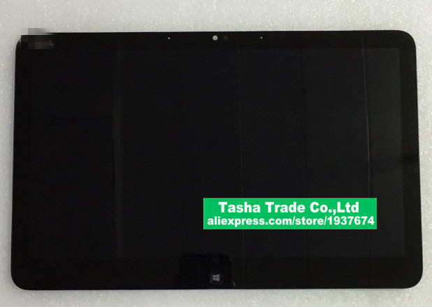 For DELL XPS12 DELL LOGO Touch Screen Panel Digitizer Glass LCD Display Assembly Replacement
