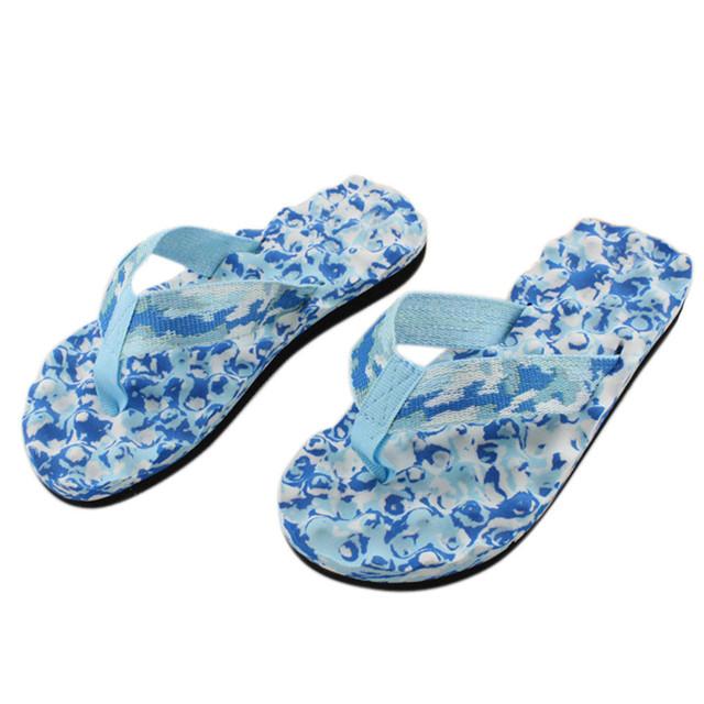 Ulrica 2017 Brand New KLV Women Summer Camouflage Flip Flops Shoes Sandals Slipper indoor & outdoor Flip-flops Gift 1PC Jan 04