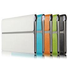Case para lenovo yoga tab 3 8 protectora smart cover cuero de la Tableta Para Tablet3 YT3-850F YT3-850M 8 pulgadas PU Protector manga
