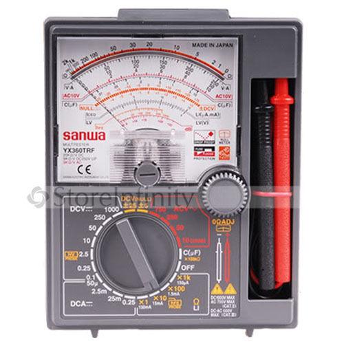 Aletler'ten Lazer Seviyeleri'de Yeni japonya Sanwa YX360TRF Analog multimetre test cihazı DC YX 360TRF title=