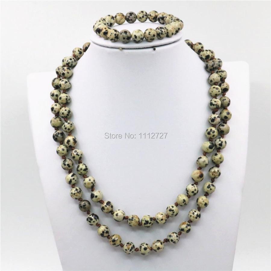 ≧8 <b>мм</b> натуральный Спот круглые бусины Цепочки и ожерелья ...