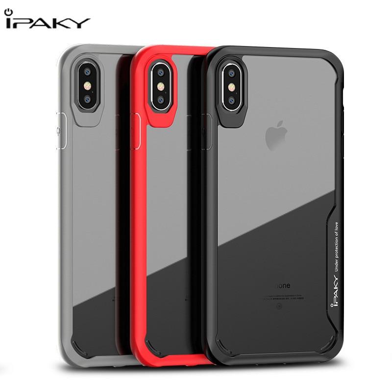 Coque pour iphone xs max. coque antichoc pour iphone x xr 10. coque en Silicone transparent pour iphone 6 6s 7 8 plus