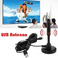 dvb digital 22dB רווח גבוה אנטנה טלוויזיה עבור DVB-T טלוויזיה / USB TV Tuner Portable פנימי / חיצוני / רכב HD Digital TV אנטנות חם 1pcs מכירה (3)