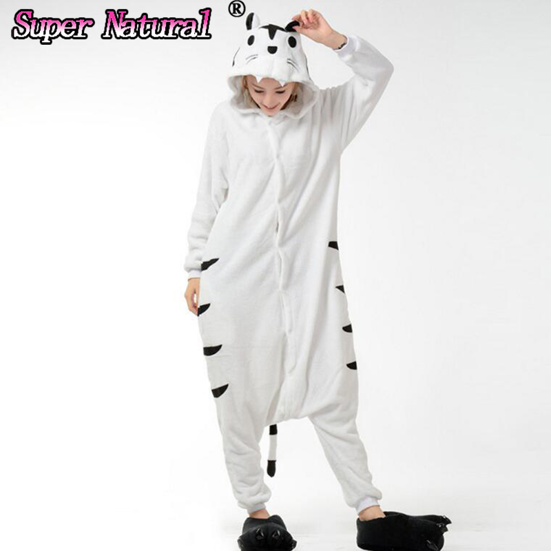 29514f4f2 Detail Feedback Questions about HKSNG Women Girls Adult Winter Yellow White  Tiger Kigurumi Pajamas Onesie Hoodie Pyjamas Cosplay For Party on  Aliexpress.com ...
