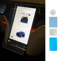 2018 New Arrival 14 45 Inch Real Tempered Glass Car Styling Anti Fingerprint Screen Protector For