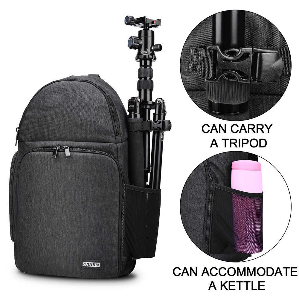 Мульти-функциональная камера сумка Водонепроницаемый однообъективной цифровой зеркальной фотокамеры сумка для Canon 200d 4000d m50 Камера рюкзак для Nikon d3500 sony a6000 a7 iii