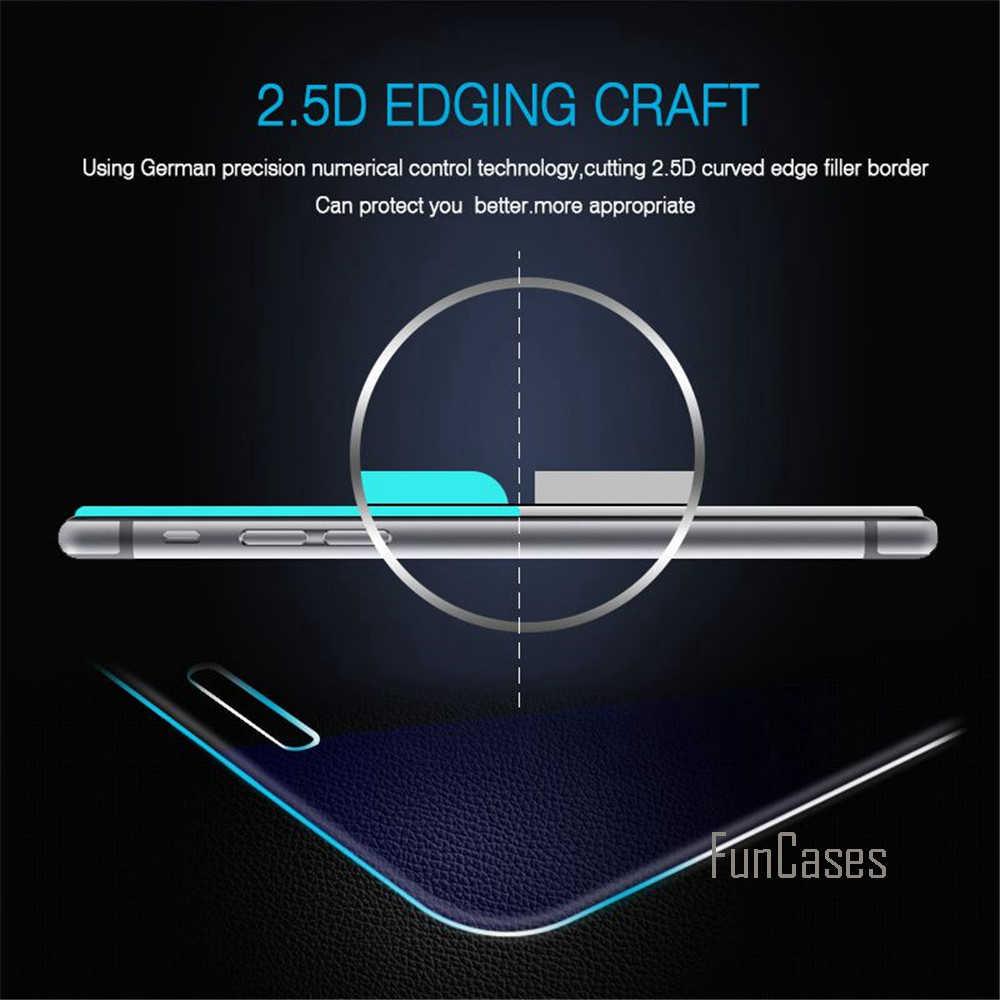 กระจกนิรภัยสำหรับ ASUS Zenfone 2 เลเซอร์ ZE500KL หน้าจอ Protector ฟิล์มสำหรับ ASUS Zenfone 2 เลเซอร์ ZE500KL 2.5D ขอบโค้งหน้าจอ