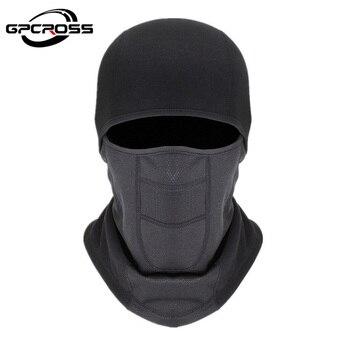 GPCROSS Outdoor Fleece Balaclava Motorcycle Face Mask Winter Ski Snowmobile Cap Bike Cycling Full Face Mask Motorbike Helmet Hat face mask