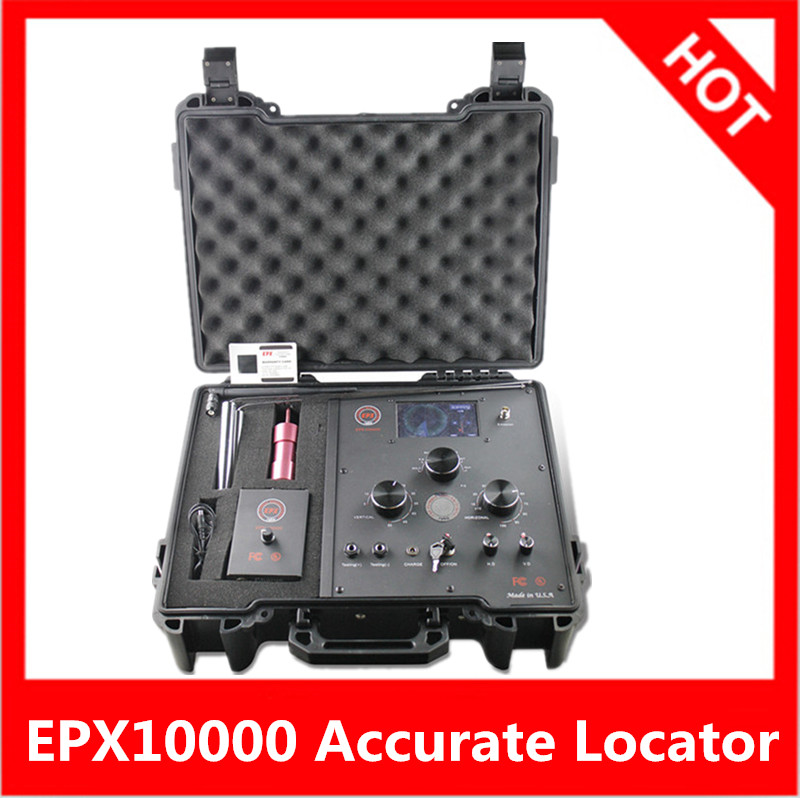 High Quality 10000EPX underground Gold Detector Long Range Gold Diamond Detector EPX10000 3D Metal Detector Gold Digger aks long range underground gold detector deep search locator aks