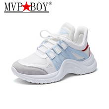 MVP BOY Spring New Fashion Brand Lady Casual Platform Shoes Women Shoes Girl Leisure Sneaker Breathable Good Quality Soft 35-43 most wonderful african women bags and shoes good quality italian new style shoes and bag for fashion lady eth16 0528