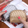 New Arrival Women's Wallet Design Vintage Wallet Hand-Knit Mini Coin Pocket High Quality Key Chain Holder Brand Design Purse