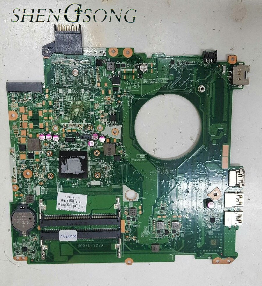 762528-001 Laptop motherboard Free Shipping FOR HP Pavilion 15-P 15-p001AU motherboard 762528-501 A4-6210 Y22A 100% Tested ytai a4 6210 processor for hp pavilion 15 g laptop motherboard la a996p rev4 0 with a4 6210 processor ddr3 mainboard 100% tested