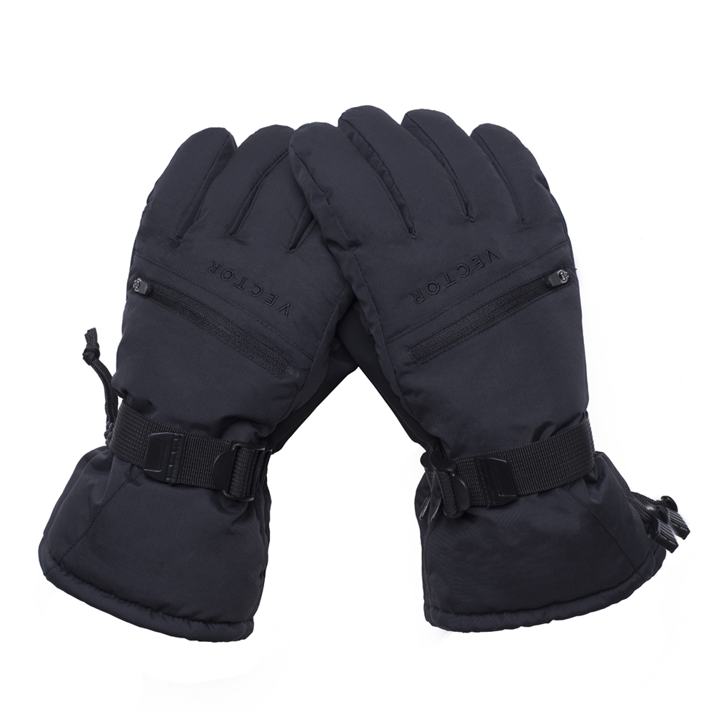 Extra Thick Ski Gloves Men Women Touch Screen Warm Waterproof Skiing Snowboard Snowmobile Outdoor Winter Snow Sports