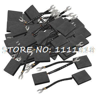 60x Electric Motor Carbon Brushes 45mm x 40mm x 9mm w Leads60x Electric Motor Carbon Brushes 45mm x 40mm x 9mm w Leads