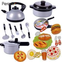 22pcs/Set Kitchen Supplies Model Preschool Learning Simulation Tableware Toy Mini Tea Cup Kit Plastic