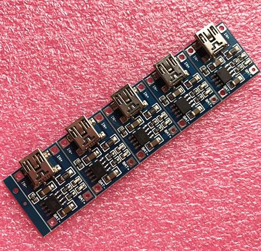 TP4056 1A Lipo Батарея зарядная плата для зарядки литиевой батареи DIY Mini USB Порты и разъёмы