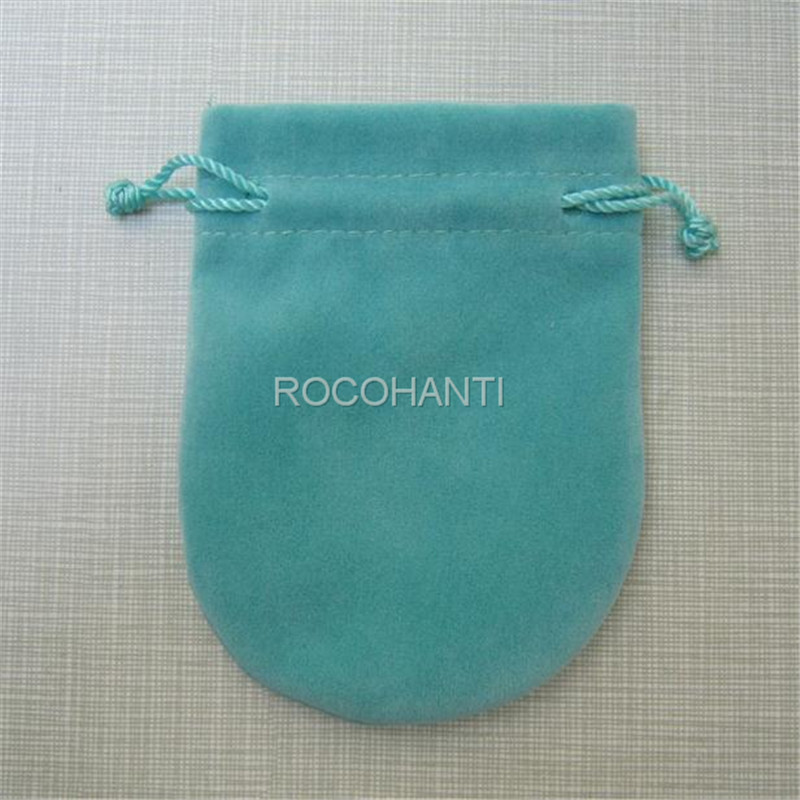 50Pcs Soft Velvet Cloth Jewelry Pouches Calabash Opening Mini Drawstring Bags Gift Bags font b Wedding
