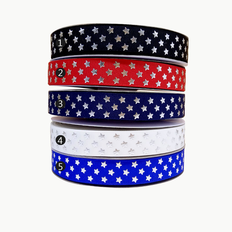 "EMOJI POLKA DOTS 7//8/"" Grosgrain Ribbon Various Yard SHIP FROM USA"