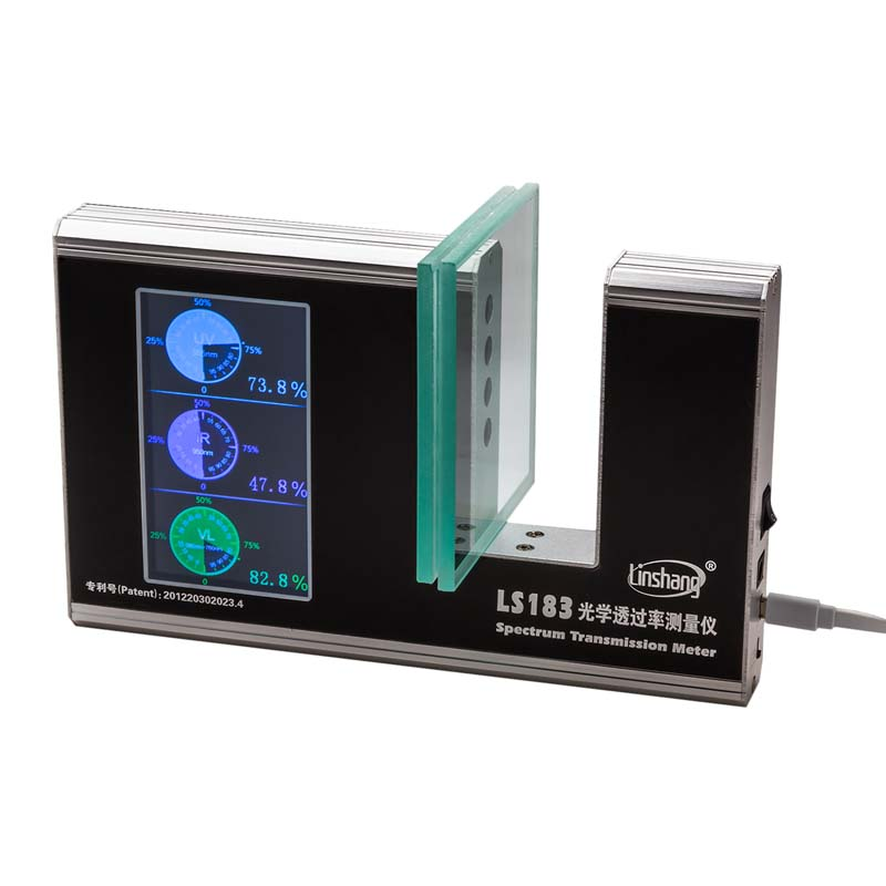 LS183 Digital UV Light Transmission Meter With Real Time Dynamic Auto Calibration