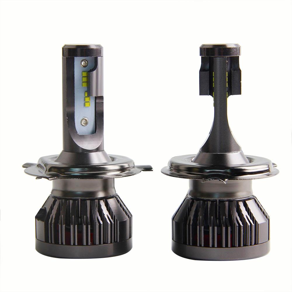 2PCS NEW Arrivals Car Lights Bulbs LED H4 H7 ZES Lamp 6000K 10000LM 9012 HIR2 H11 LED H8 H9 9005 9006 Auto Headlights Led Lights