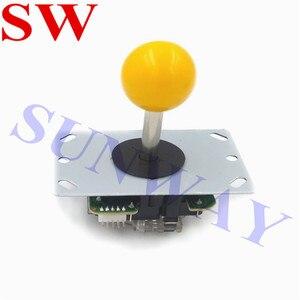 Image 2 - Miễn phí Vận Chuyển TỰ LÀM Arcade BỘ Arcade Sanwa phong cách joystck và LED nút giao diện USB 1 cầu thủ MAME Giao Diện USB để Jamma