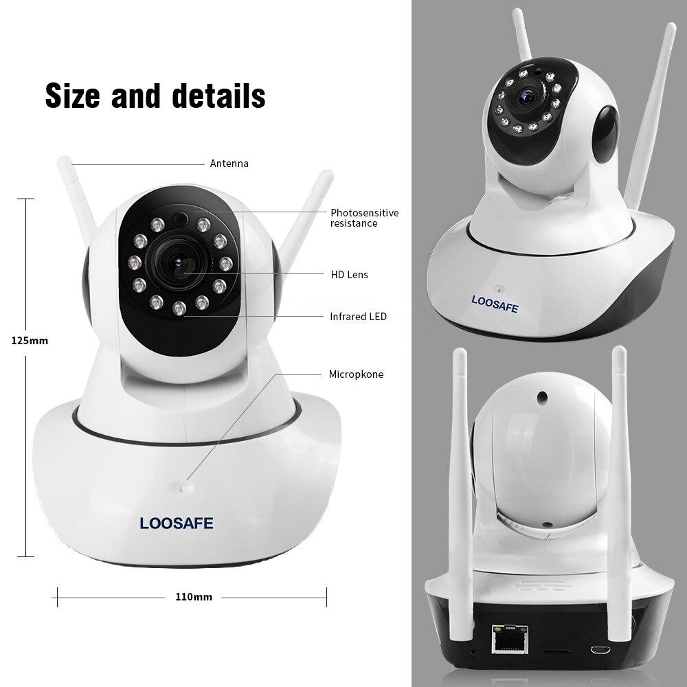 LOOSAFE IP kaamera WIFI HD 1080P kaamera valvekaamera 2 MP - Turvalisus ja kaitse - Foto 5