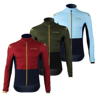 le col pro team wiggins Men's cycling jacket 2019 spring/autumn breathable bike jersey clothing suit wear ropa ciclismo kit set