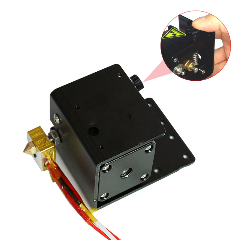 MK8 Extruder Kit Extruder Motor Cartridge Heater Tube Thermistor Nozzle Kit LCC77