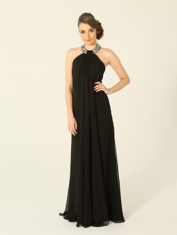 Popular Cheap Black Evening Gowns-Buy Cheap Cheap Black Evening ...