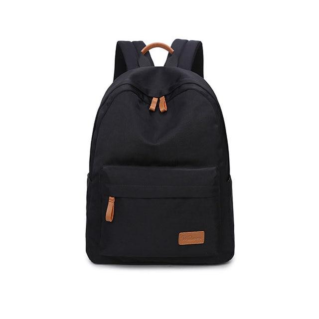 de0e5f770779 Fashion Solid Color Backpacks Leisure Korean Ladies Back Pack School  Children Schoolbag Travel Shoulder Bags For