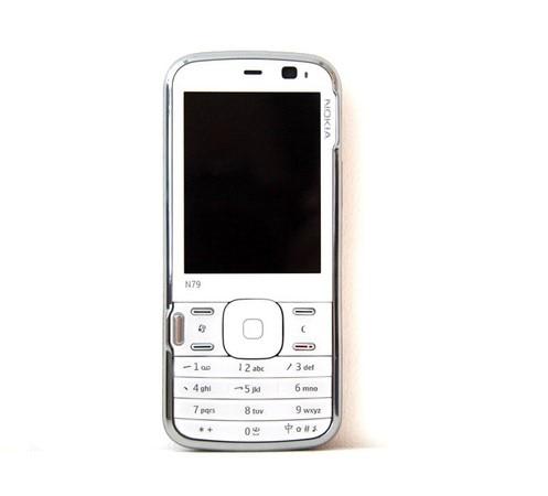 Оригинальный Nokia N79 3g сеть 5MP камера wifi gps сотовые телефоны один год гарантии отремонтированный - 2