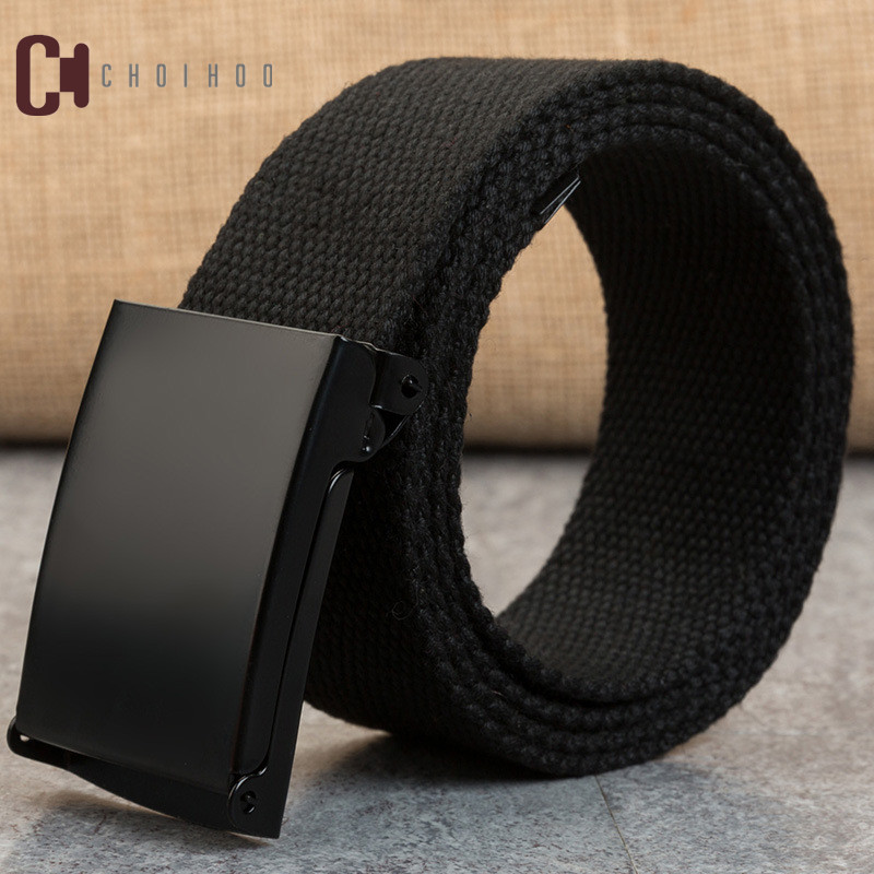 Choihoo 110 150 160cm long big size new nylon material mens   belt   military outdoor male jeans tactical   belts   for men luxury 249