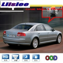 LiisleeCar камера для Audi A8 S8 D3 4E 2003~ 2007 высококачественная камера заднего вида для PAL/NTSC для использования   CCD с RCA