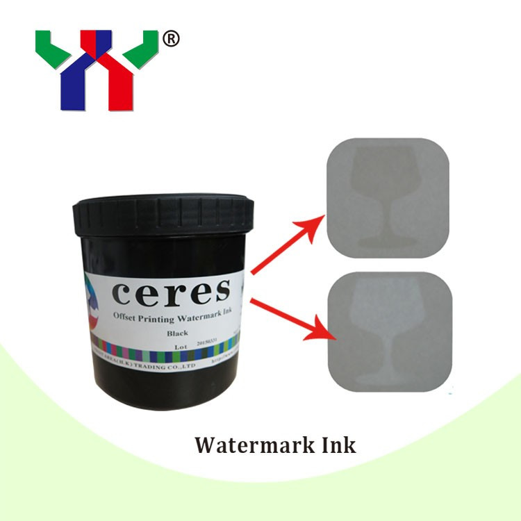 0 5kg Ceres Screen Printing Watermark Ink for Paper White color