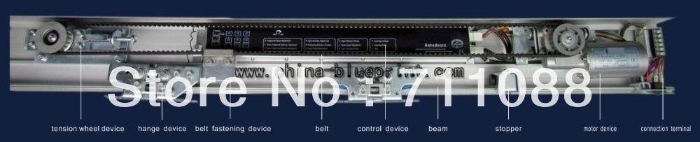 heavier motor with 24GHZ Automatic sliding door operator LT-LS001S, automatic sensor door, sliding glass door opener  - buy with discount