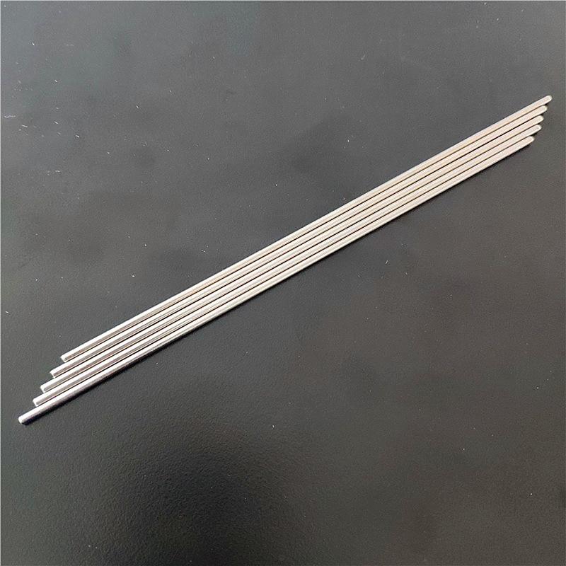 5pcs K868 Stainless Steel Model Car Axles Blackening 2mm Diameter Steel Shaft