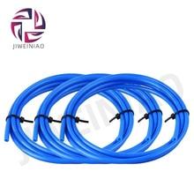 JIWEINIAO 1 Meter Blue PTFE Tube Teflon PiPe 3D Printer Parts 2mm*4mm Teflon For RepRap J-head Hotend Bowden Extruder 1.75mm 2