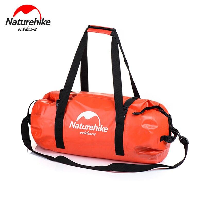 Naturehike wodoodporna torba do przechowywania dla pływających wodoodporna sakwa z paskiem na ramię pływanie sprzęt dla spływy kajakowe, wędkarstwo NH16T002 S w Torby wspinaczkowe od Sport i rozrywka na AliExpress - 11.11_Double 11Singles' Day 1