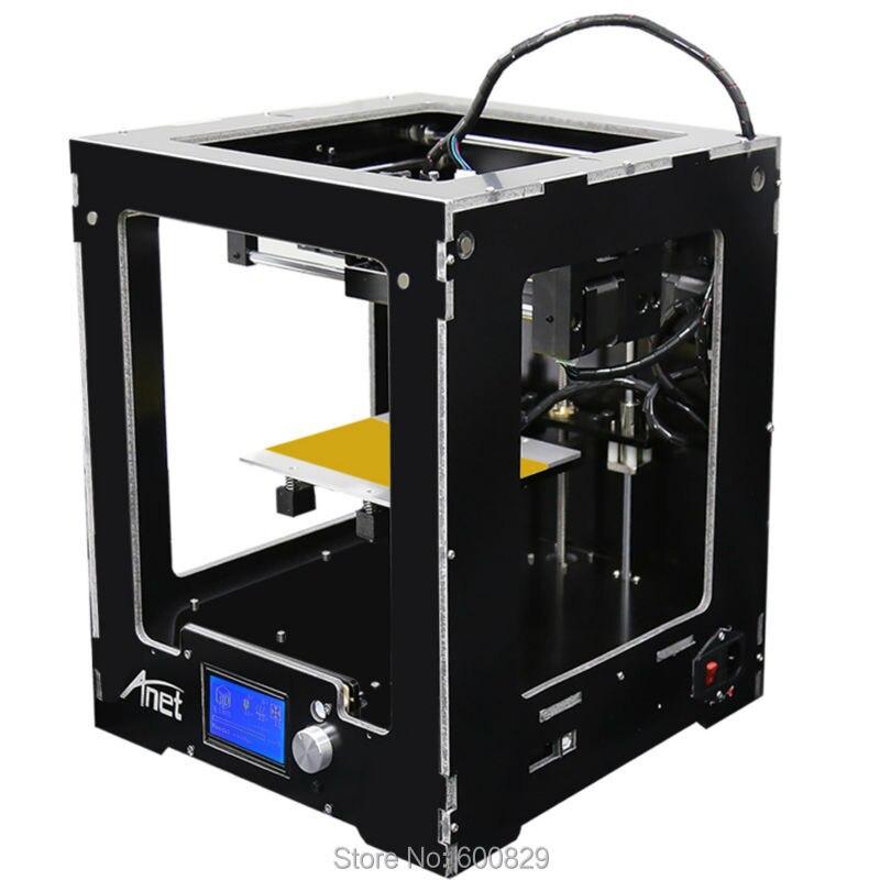 Full Assembled Aluminum 3D Printer RepRap Sanguinololu Me Creator A3 With LCD 12864 Offline printing