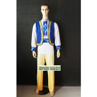 High Quality Custom Made Man Or Children Russian National Costumes,Folk Dancing Tops For Men Jackets And Pants For Lovers