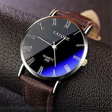Glass Watch YAZOLE Business Casual Relogio Blue Masculino Hot Stylish New