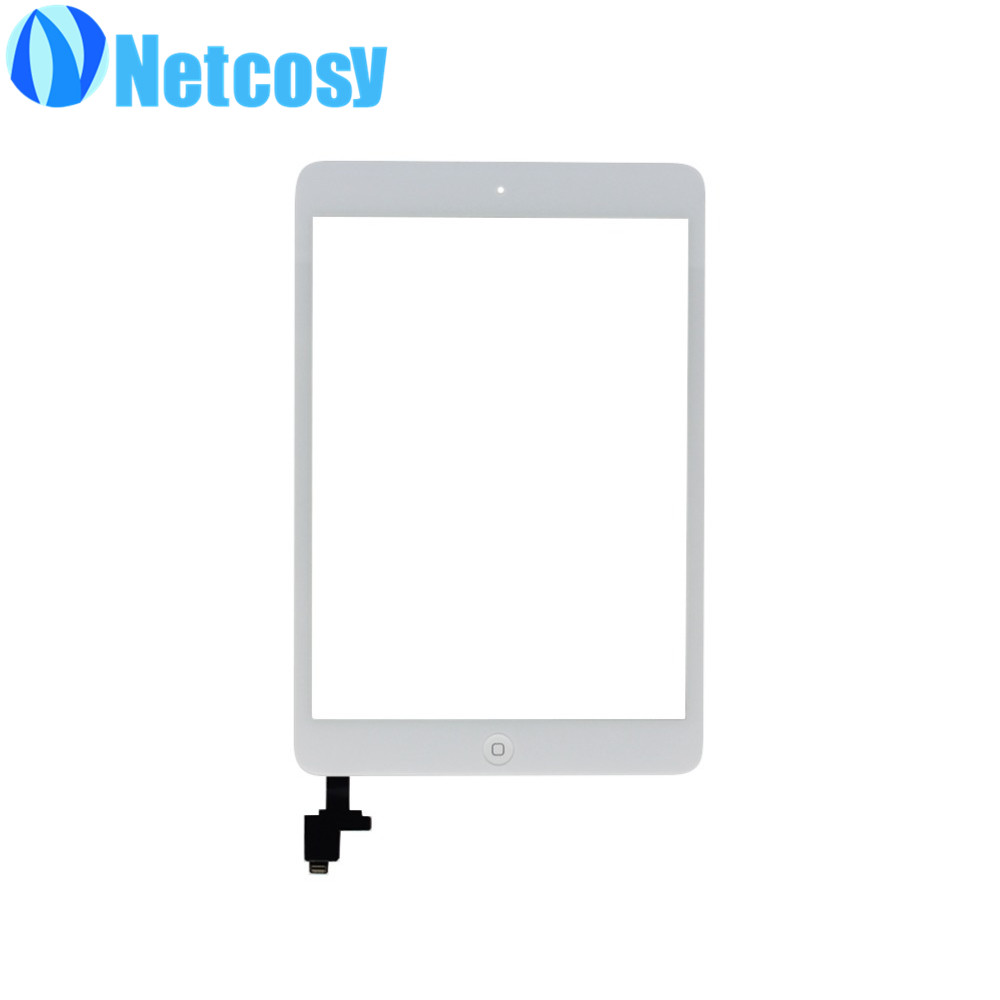 10pcs/Lot Touchscreen For ipad mini 1/2 Touch Screen Digitizer panel Home Button Assembly repair For ipad mini 1/2 touch panel стоимость