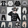 2016 Ins Fashion Bobo Choses Toddler Baby Girls Boys Pants Kids Clothing Newborn Infant Bebes Cotton Tringles Trousers Leggings