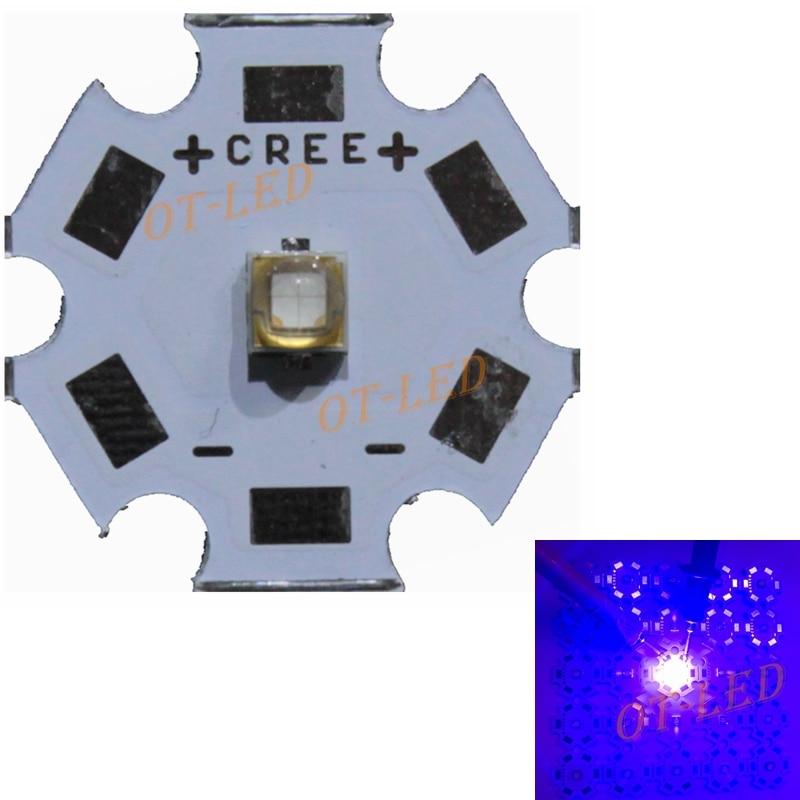 10pcs/lot,3W 5W LG3535 430NM To 440NM Plant Blue Aquarium Blue UV/Ultra Violet High Power LED Emitter Diode