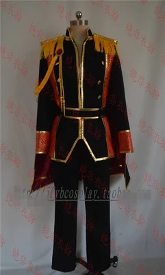 Customize Anime DIABOLIK LOVERS Sakamaki Family All Members Military Uniform Cosplay Costume For Men 2018
