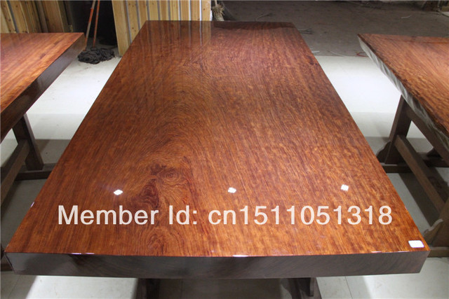 Wanqian 2583 Wooden Furniture The Brazilian Rosewood Solid Wood Furniture  Solid Wood Natural Foot Big Board